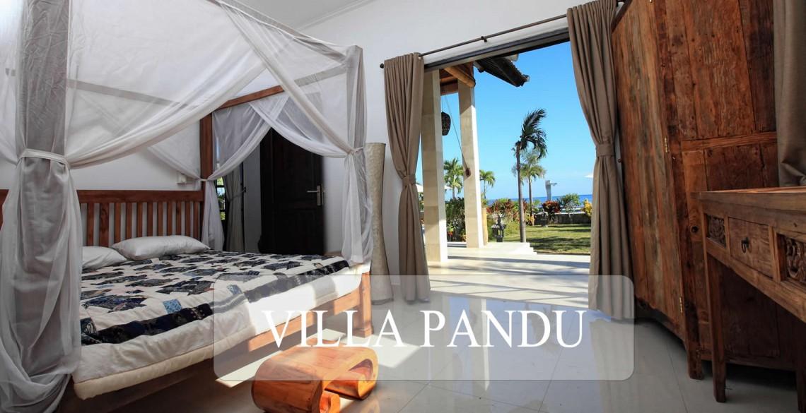 Villa Pandu Slaapkamer